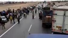 ایران میں ایندھن کا بحران ، سامان کی منتقلی مفلوج