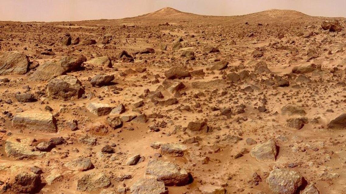صخور المريخ