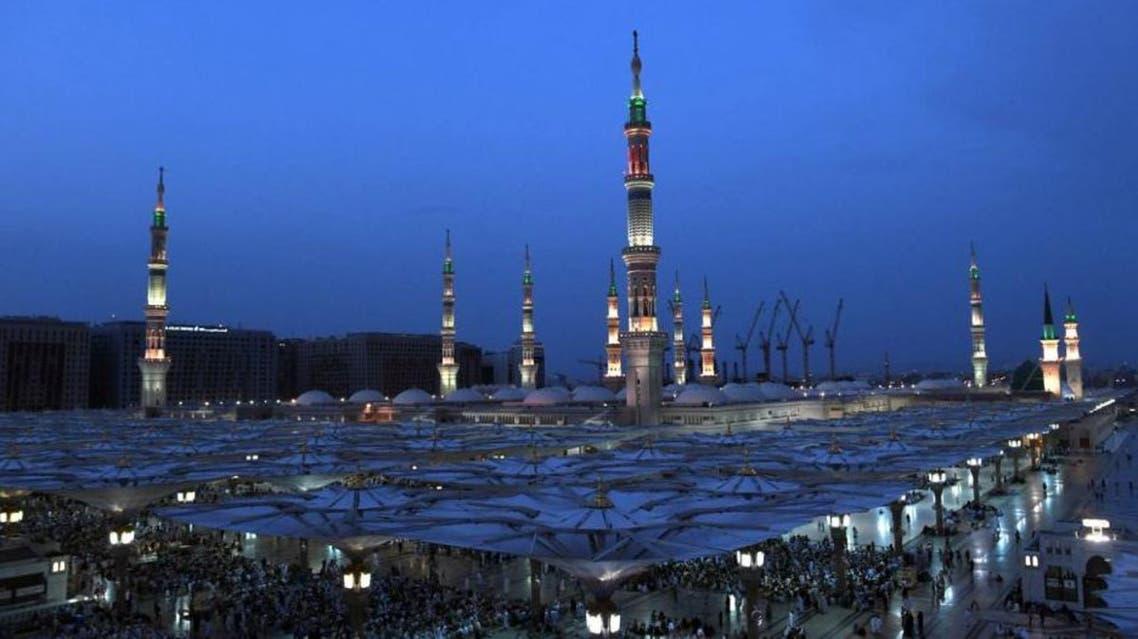 prophet mosque medina (SPA)