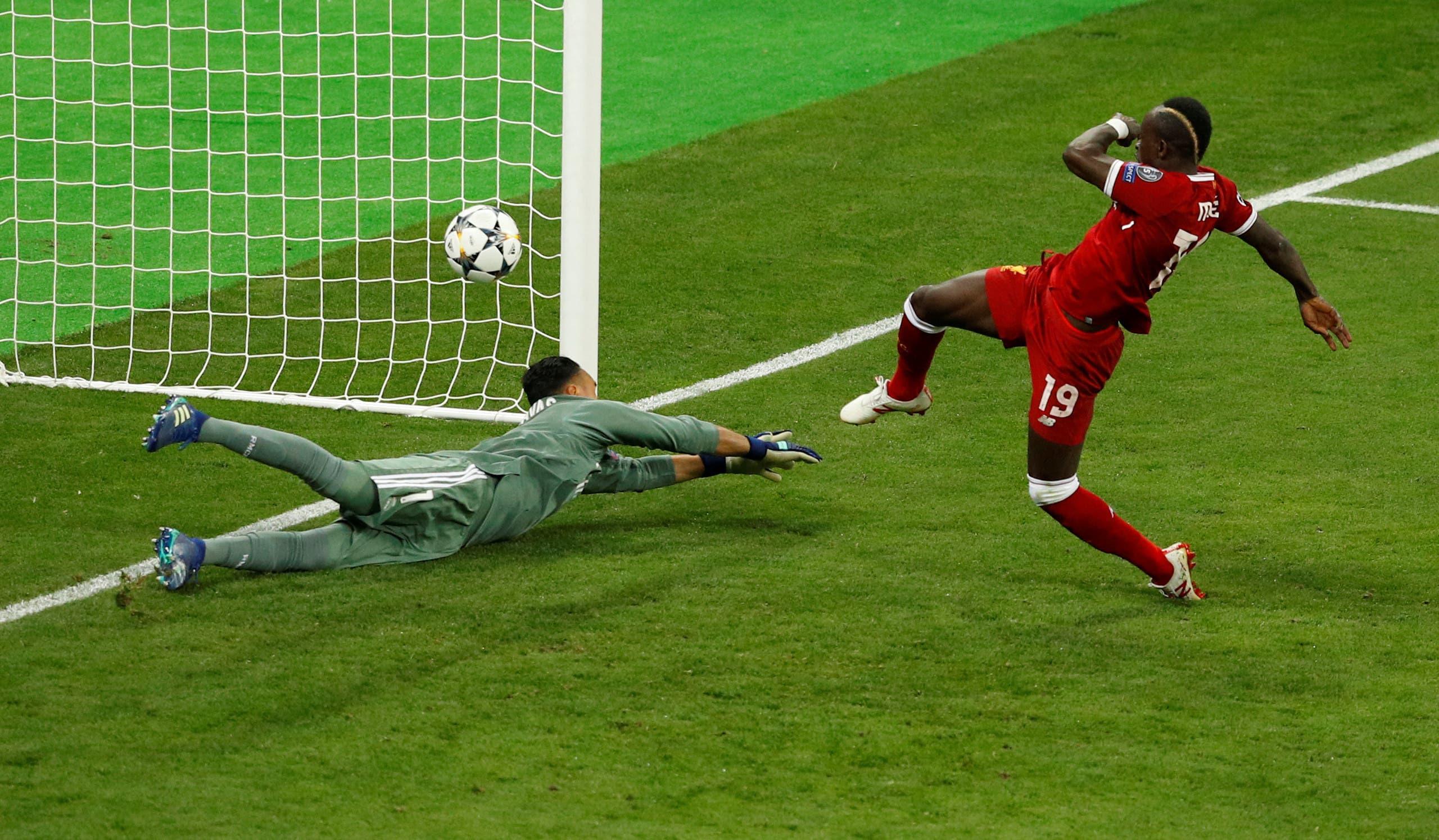 سادیو مانه و تنها گل لیورپول