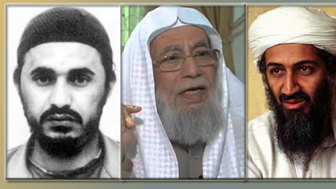 بن لادن والزرقاوي وبينهما محمد سرور