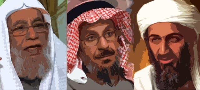 بن لادن وفقيد ومحمد سرور