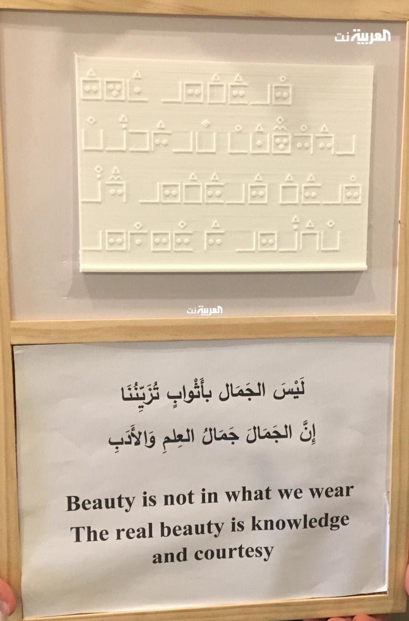 استخدام الأشكال الهندسية للدلالة على الأحرف العربية