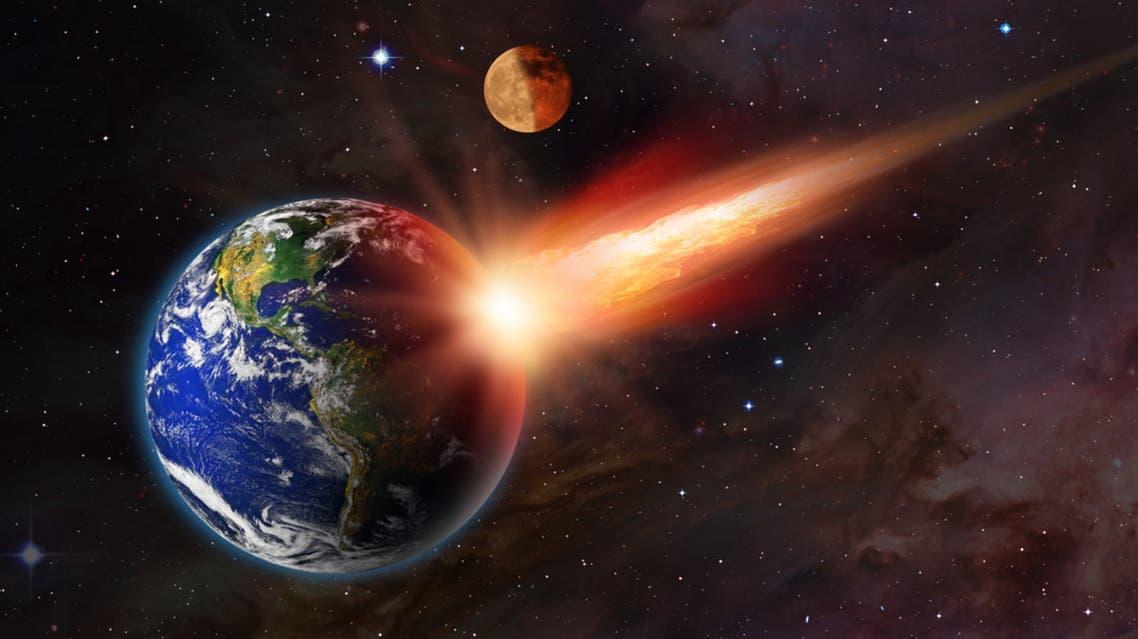 كويكب الأرض ارتطام