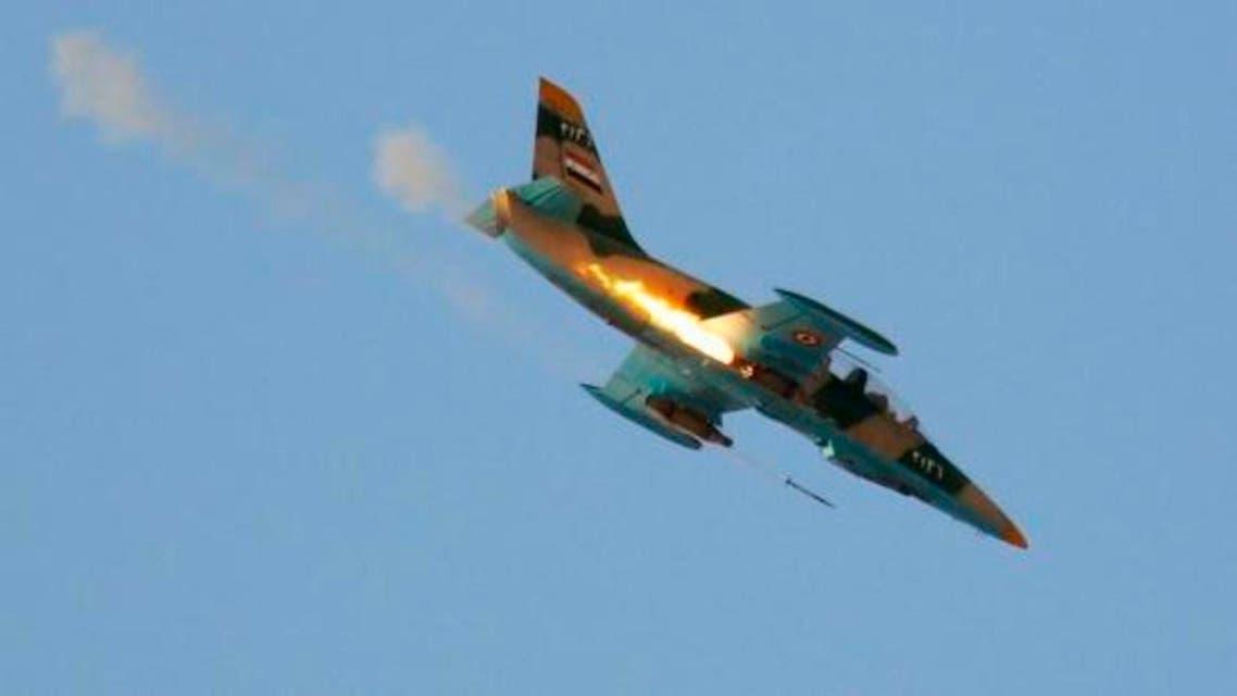 syria figher plane