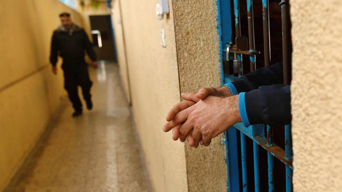 Around 6,500 Palestinians are detained in Israeli prisons, according to the Palestinian Prisoners Club. (Reuters)