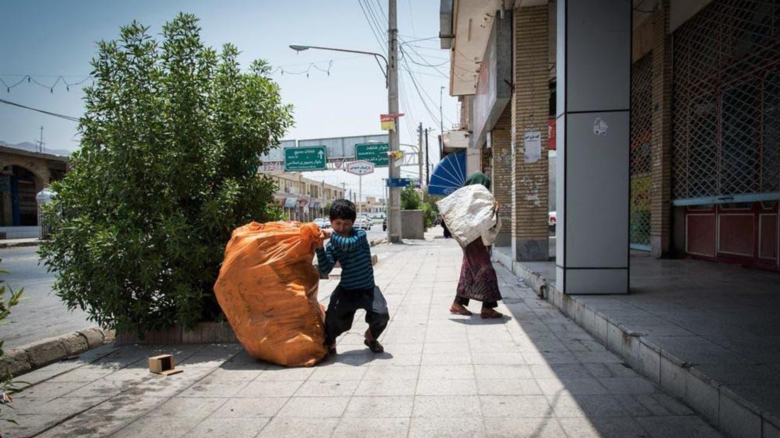 در یک سال 6500 کودک کارگر افغان از ایران رد مرز شدهاند