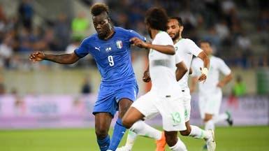 استبعاد المشاغب بالوتيلي من قائمة منتخب إيطاليا