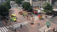 Belgian police shoot, wound knife-wielding assailant