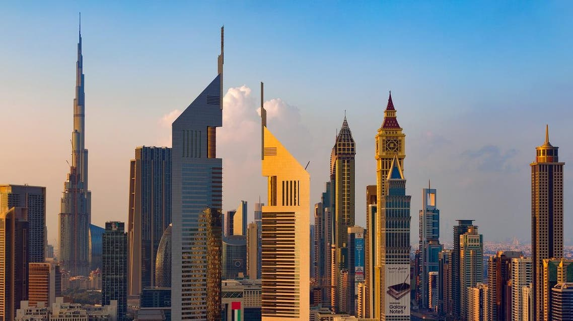 A skyline view of the buildings of Sheikh Zayed Road and DIFC on Nov 28, 2015 in Dubai. (Shutterstock)