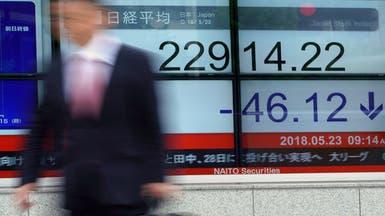 تباين أداء الأسهم الآسيوية عقب قفزة حادة في وول ستريت