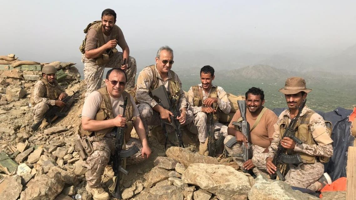 His visit marked the recent victories achieved by the Yemeni National Army and the Popular Resistance. (Supplied)