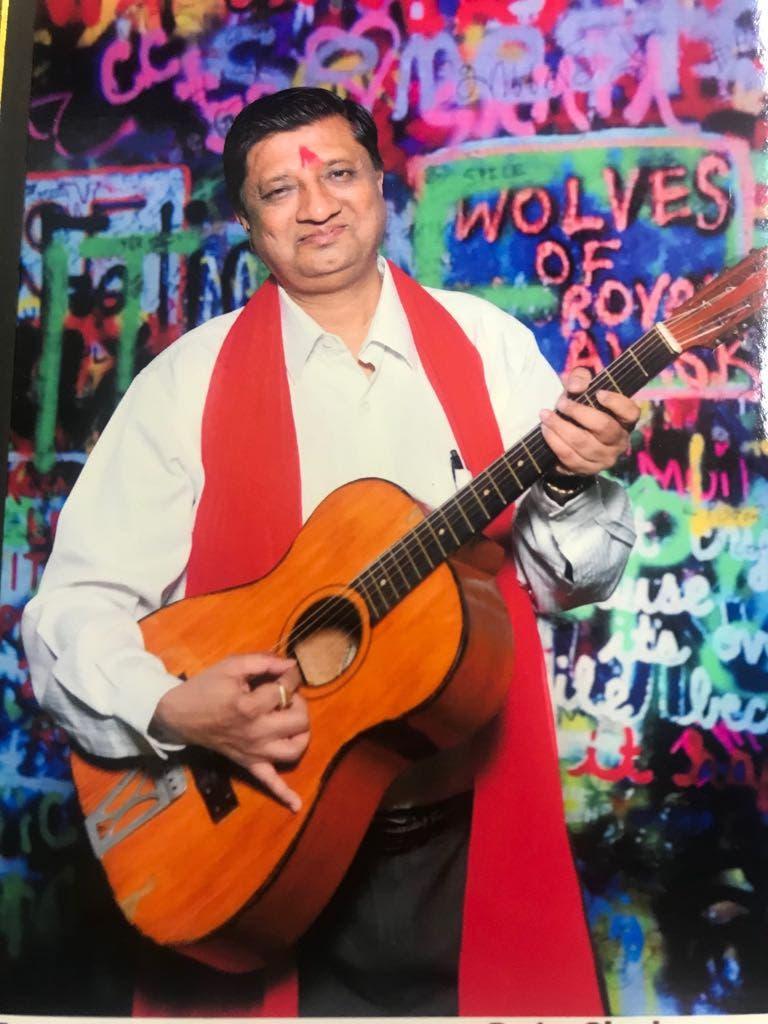 Dr Shah sings in the velvety voice of legendary Bollywood singer Hemant Kumar. (Supplied)