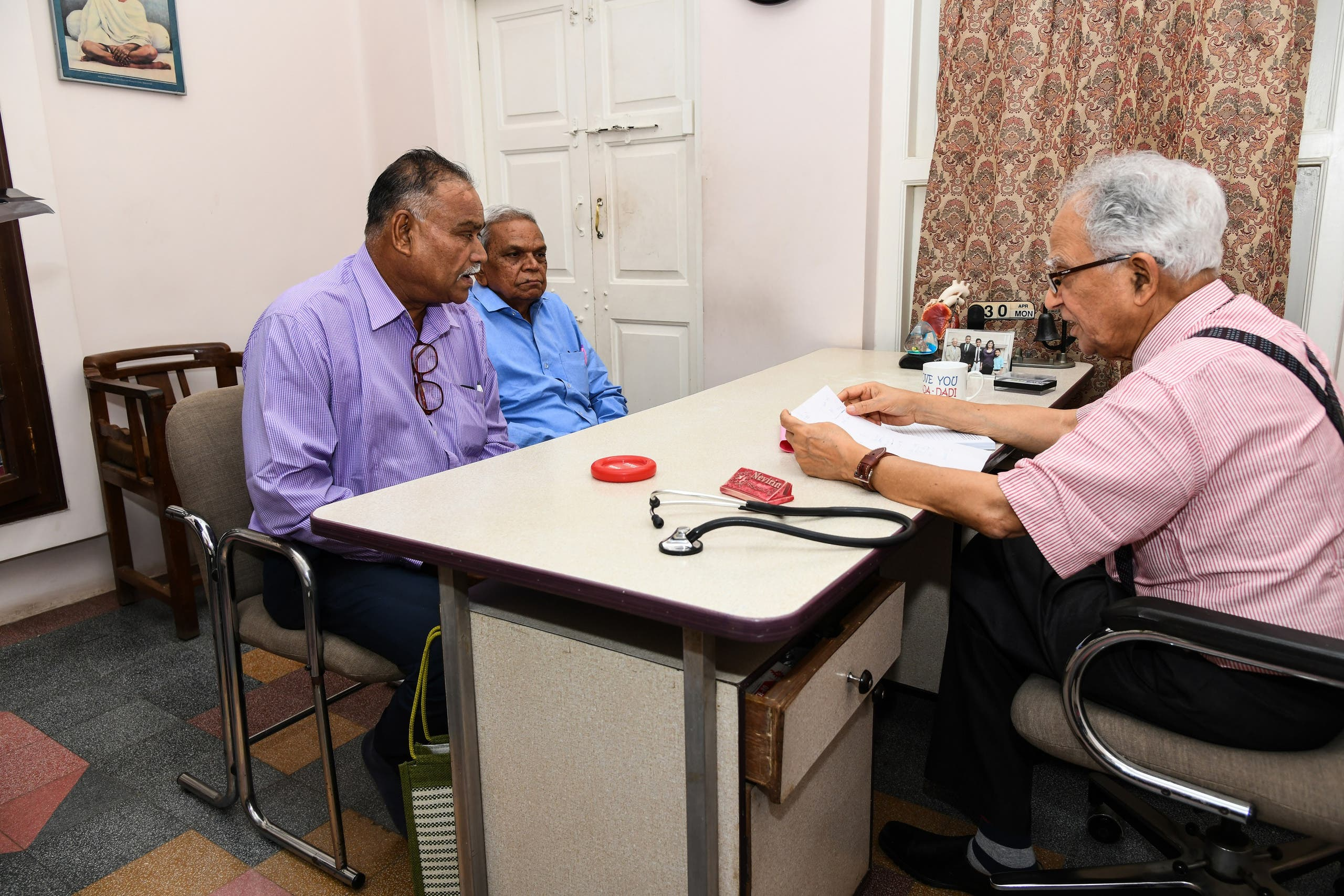 Thousands of patients have benefited from Dr Kapadia's (right) simple body-mind-soul regime. (Supplied)