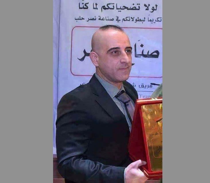 وكرّم بصفته أحد صنّاع النصر وعودة حلب بيد النظام السوري