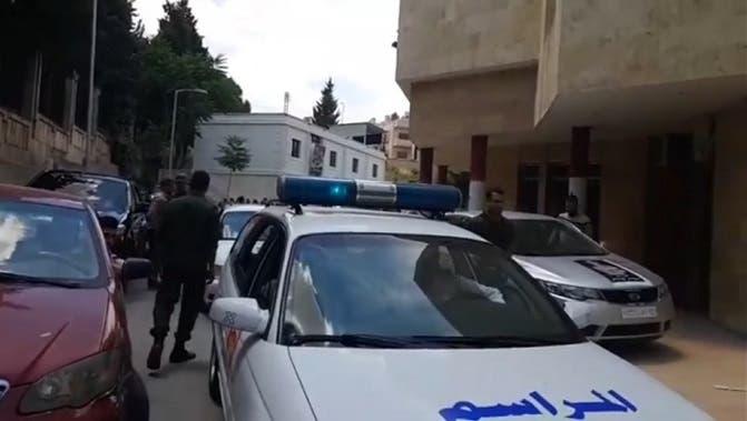 تشييع رسمي بحضور قادة وضباط من جيش النظام السوري