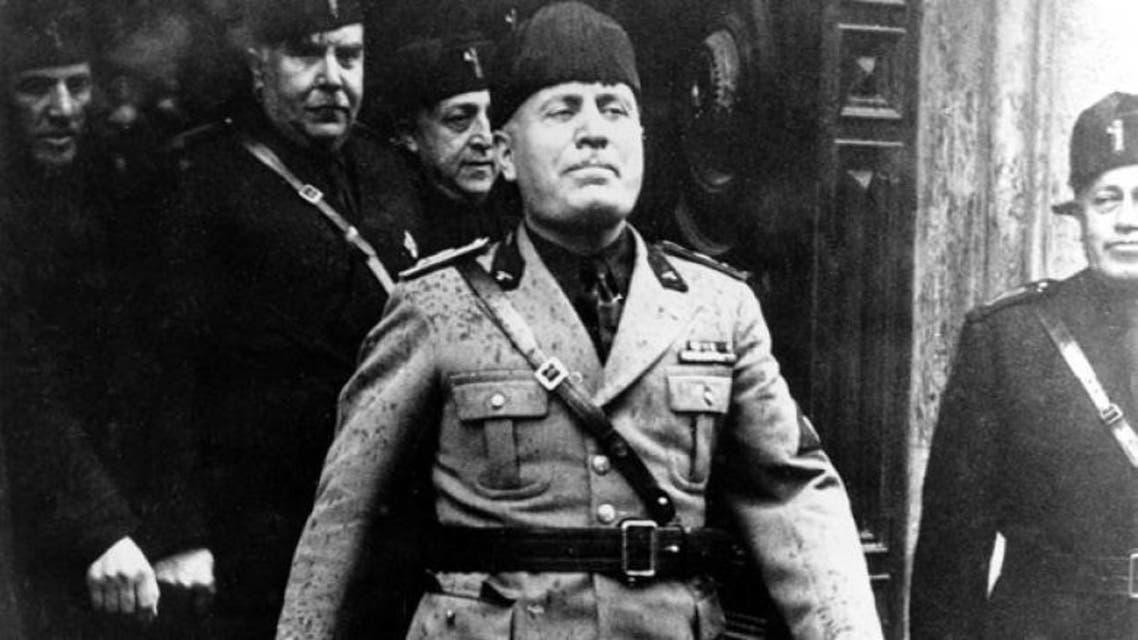 الدكتاتور الإيطالي موسوليني
