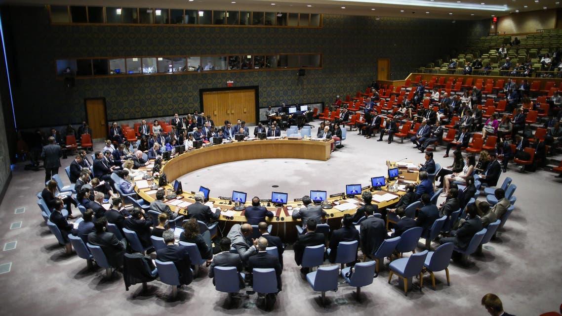 من جلسة مجلس الأمن حول غزة