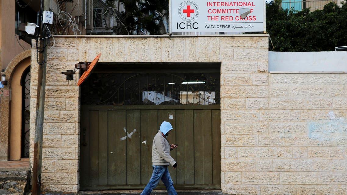 red cross gaza. (AP)
