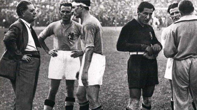 فيتوريو بوزو مدرب إيطاليا في المونديال