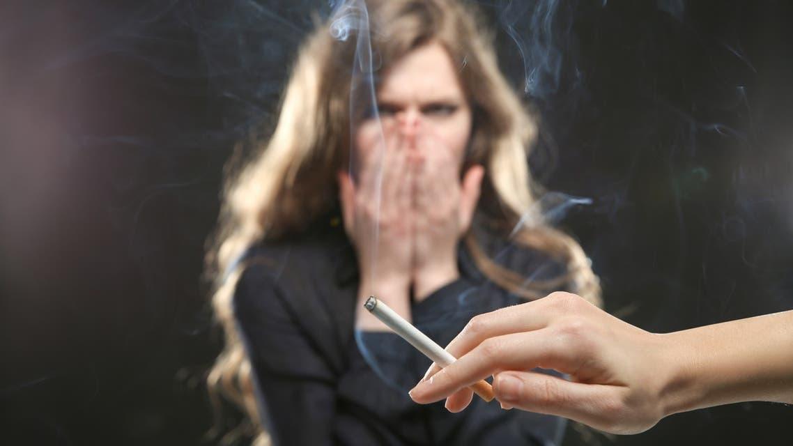 Passive smoking التدخين السلبي
