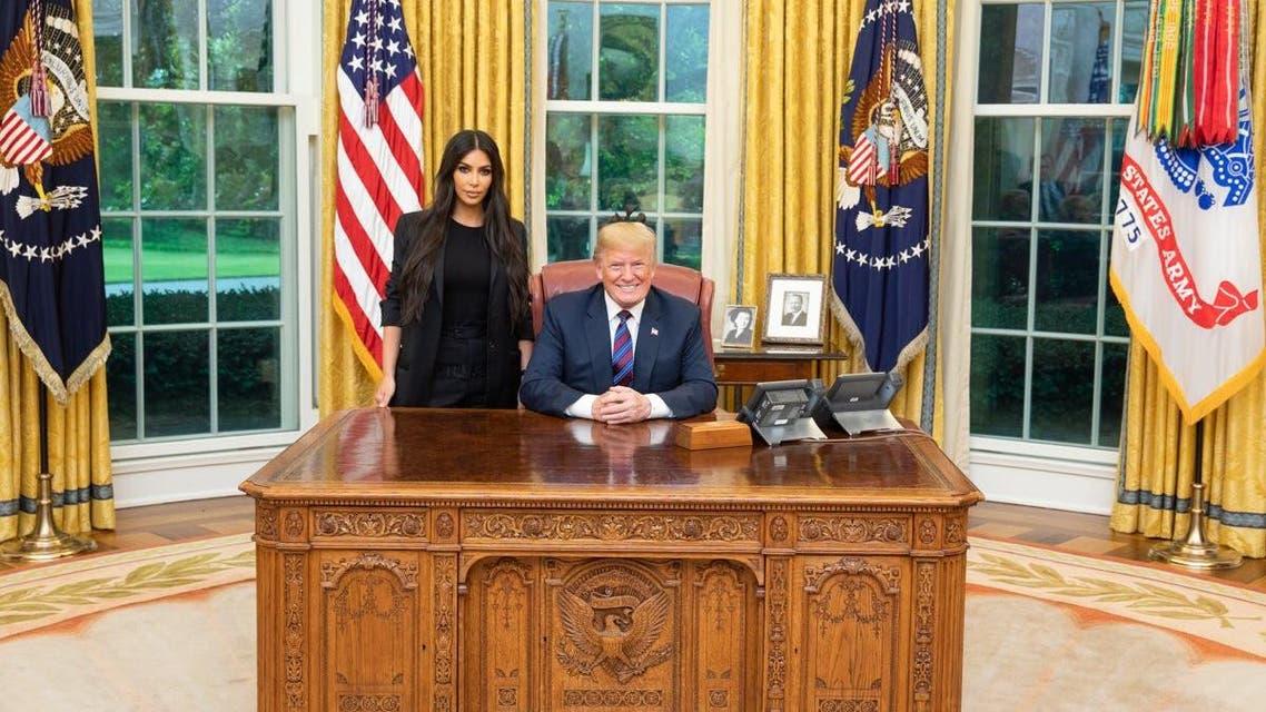 kim kardashian trump. (Twitter)