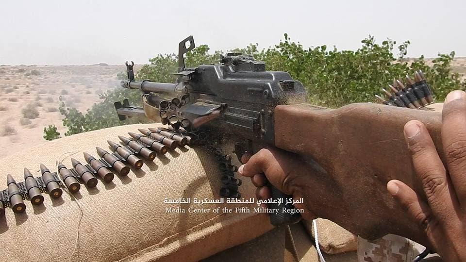 الجيش اليمني في المعارك الميدانية بحجة