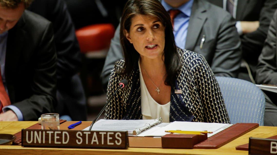 Nikki Haley. (Reuters)