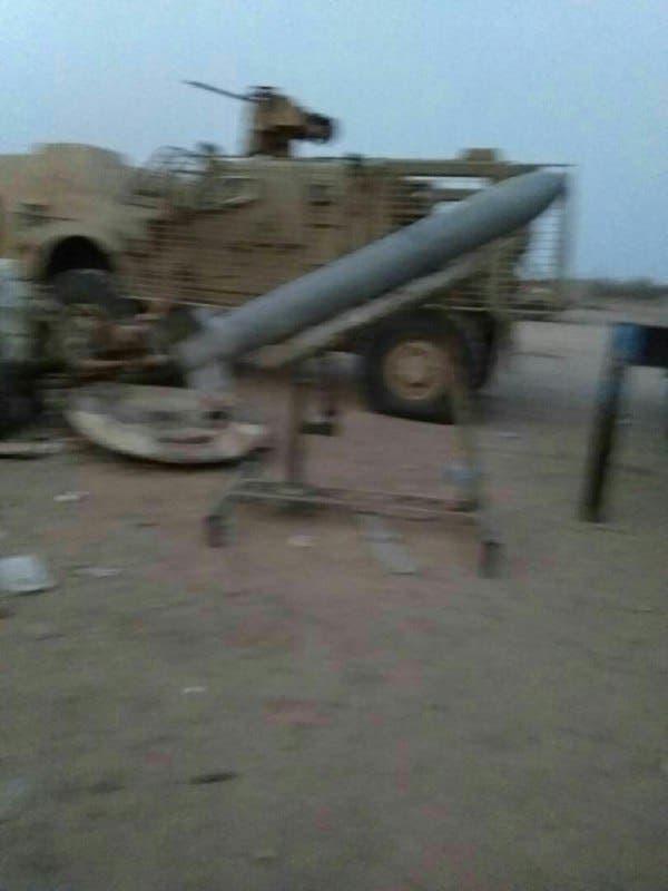 صواريخ حوثية كانت جاهزة للإطلاق قبل أن تتركها وتهرب