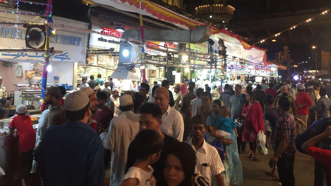 During the fasting month the stretch of Mohammed Ali Road in Mumbai comes alive with the smells and sounds of flavors. (Supplied)