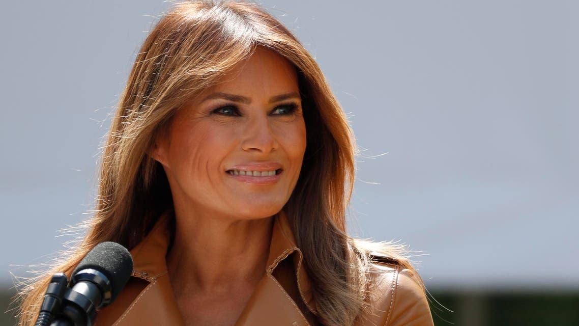US first lady Melania Trump. (AP)