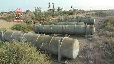 فيديو..هذا ما تركه الحوثيون قبل فرارهم من مشارف الحديدة