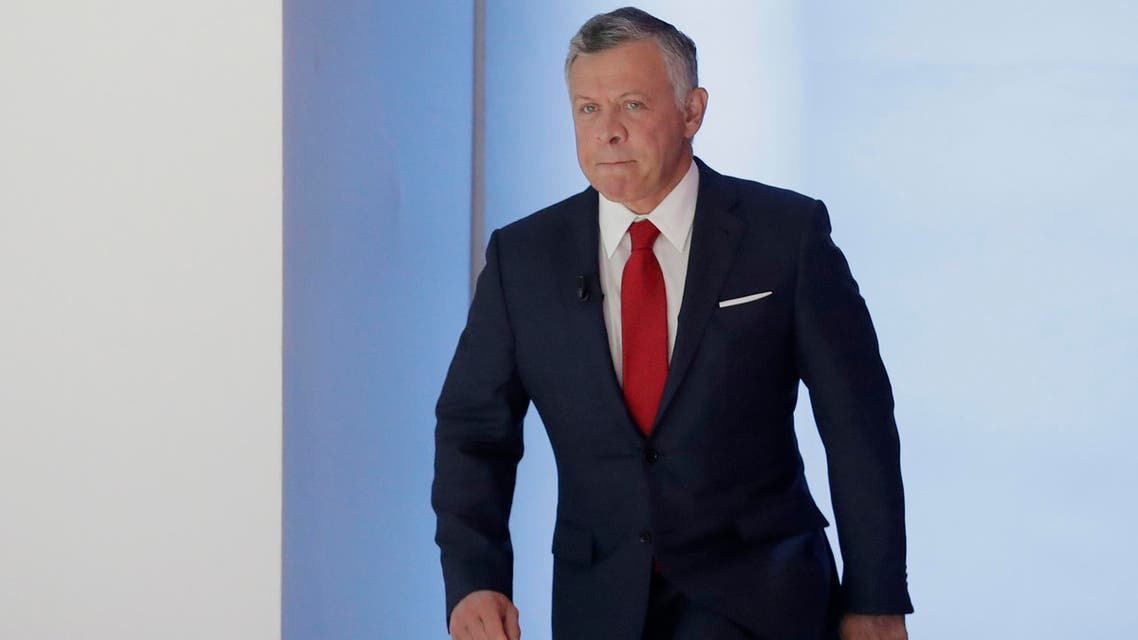 King Abdullah of Jordan. (AP)