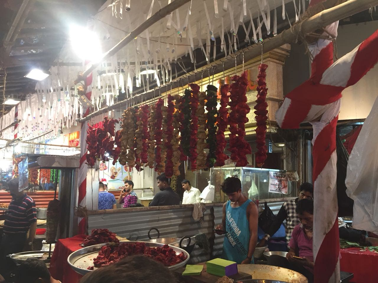 Deliciously sinful delicacies adorn every outlet or makeshift stalls. (Supplied)