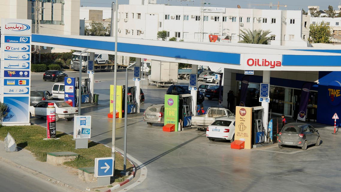 A fuel pump is pictured at Oilibya gas station in Tunis,Tunisia. (File photo: Reuters)