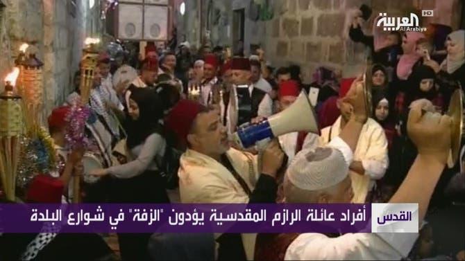 الزفة .. كل خميس بعد التراويح في القدس القديمة