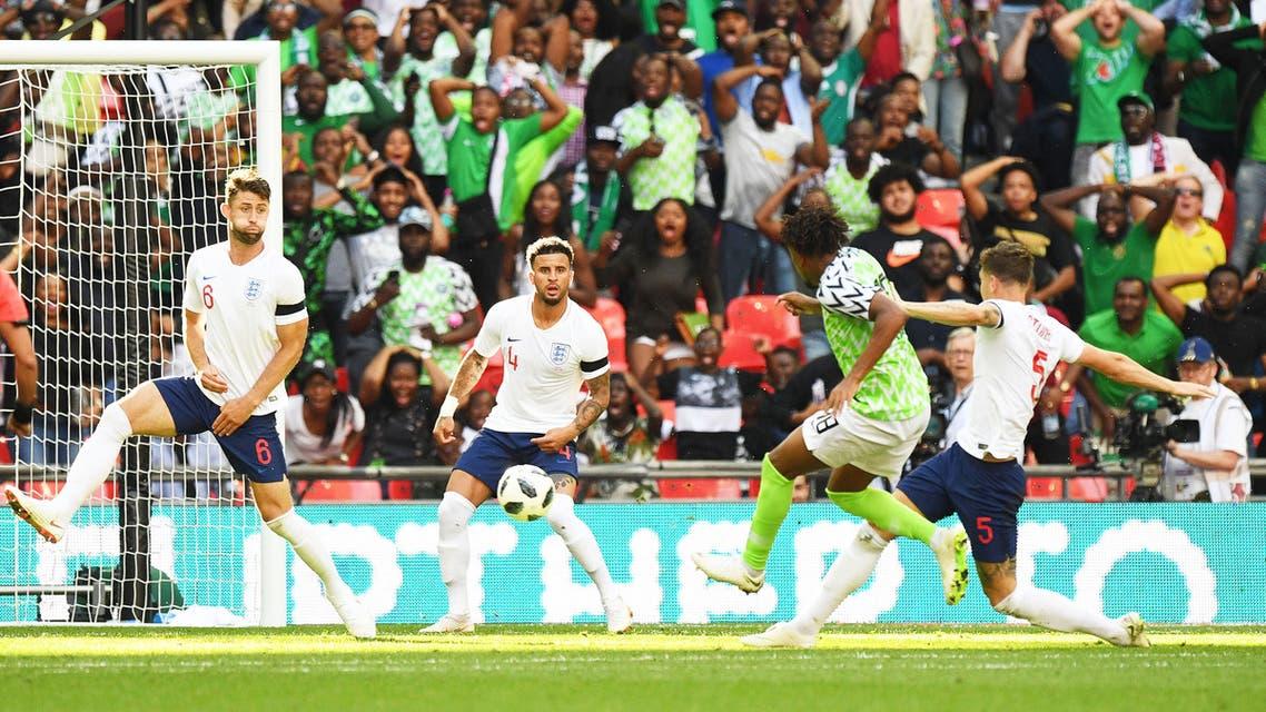 إنجلترا نيجيريا