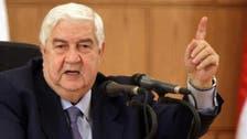 """آخر کار شامی وزیر خارجہ نے عوامی تحریک کو """"انقلاب"""" تسلیم کر لیا !"""