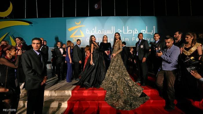 Last year's Carthage Film Festival attracted thousands of cinema critics and enthusiasts who were treated to 180 films. (Reuters)