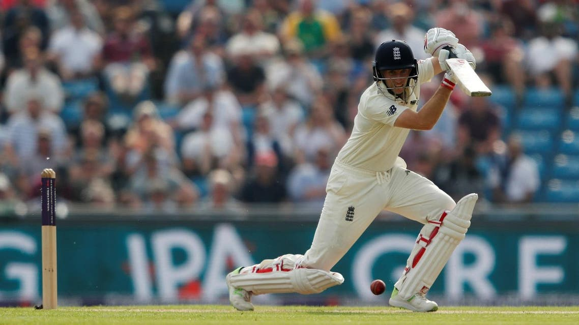 England's Joe Root in action Pakistan in the second Test at Emerald Headingley Stadium, Leeds, Britain on June 1, 2018. (Reuters)
