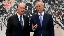 China's Liu says trade talks with US have not broken down