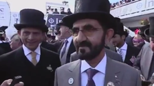 WATCH: Dubai ruler jumps for joy as Godolphin stable wins first English Derby
