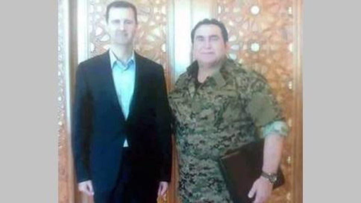 محمد جابر وبشار الأسد