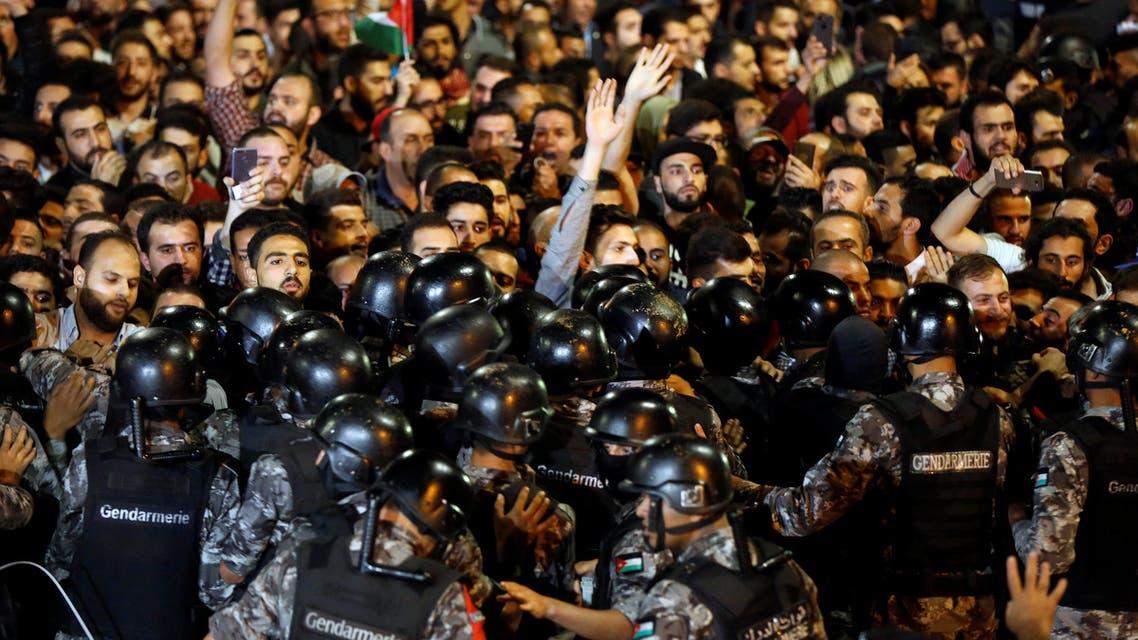 من احتجاجات الأردن