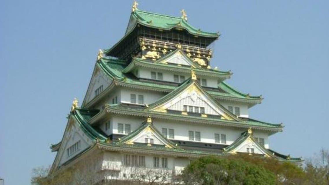 صورة لقلعة أوساكا باليابان و التي تصنف ضمن إنجازات شركة كونغو غومي