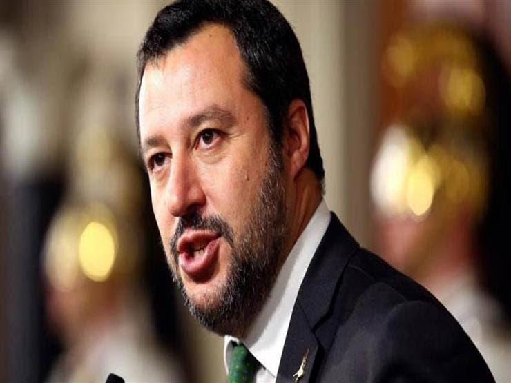 ماتيو سالفيني وزير الداخلية الإيطالي
