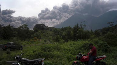 """""""فويغو"""" يقتل 25.. والنار تحاصر القرويين في غواتيمالا"""