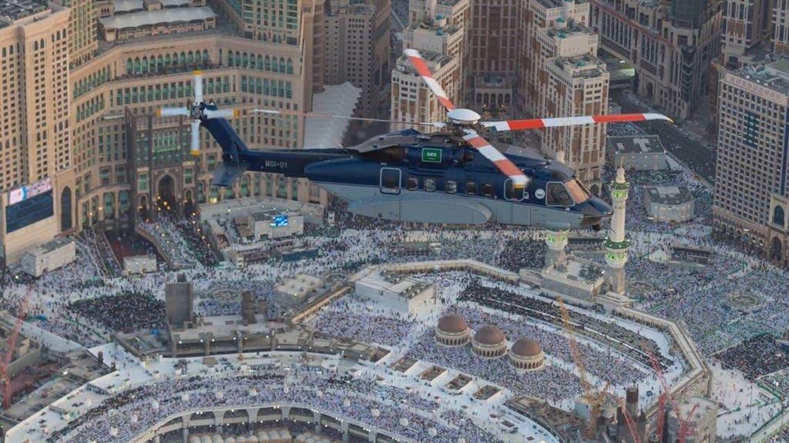 Saudi Arabia's air security has enhanced its surveillance for the last 10 days of Ramadan. (Al Arabiya)