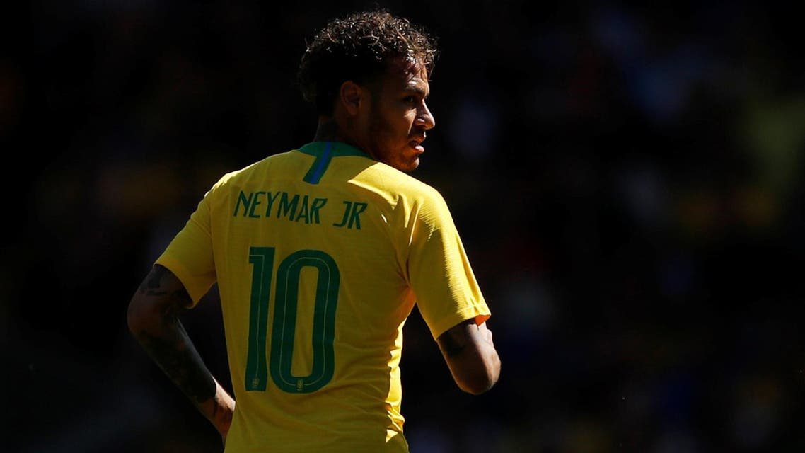 Three months after undergoing surgery on his right foot, Neymar returned to action for Brazil and inspired a 2-0 win over Croatia in an international friendly. (Reuters)