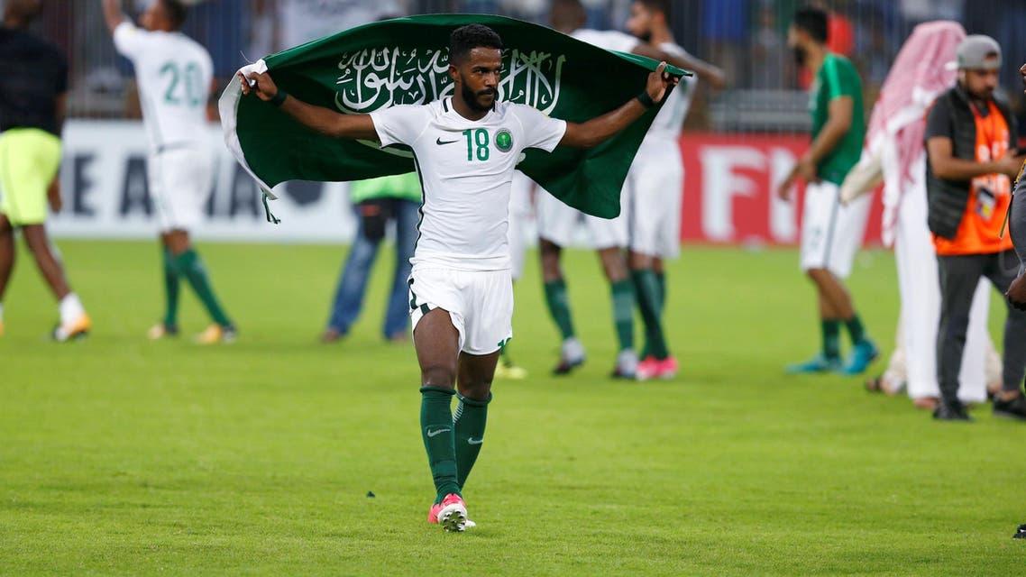 nawaf al abed saudi arabia wolrd cup. (Reuters)